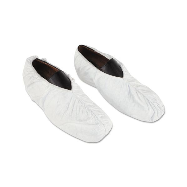 DuPont Tyvek Shoe Covers, White, One Size Fits All, 200/Carton