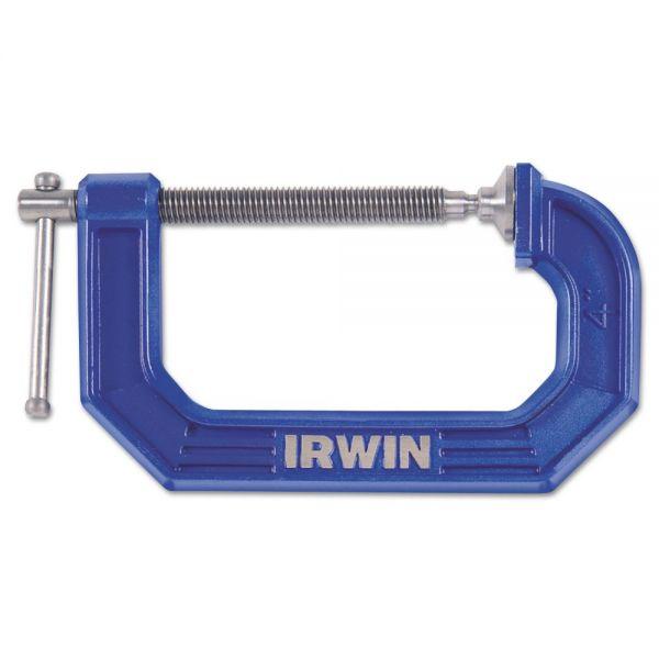 """IRWIN Quick Grip C-Clamp, 6"""""""
