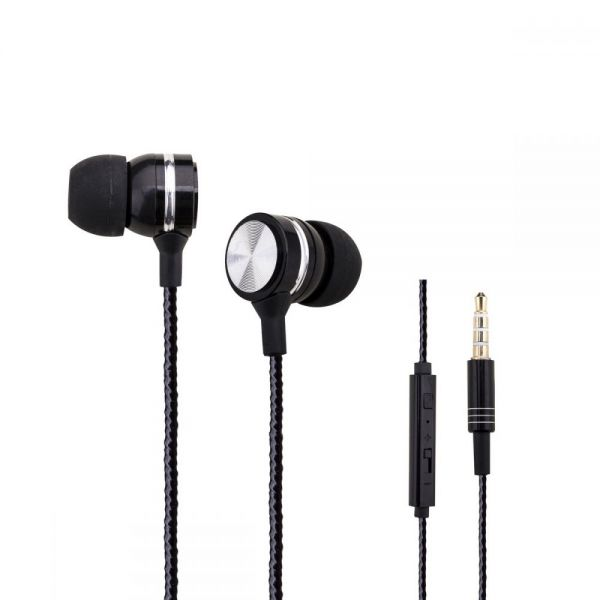 MYEPADS Metal Earphones with Remote and Mic-WZ-10