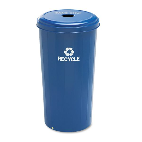 Safco Recycling Receptacle w/Lid