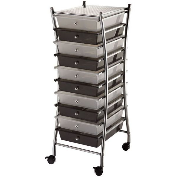 Blue Hills Studio X-Frame Storage Cart