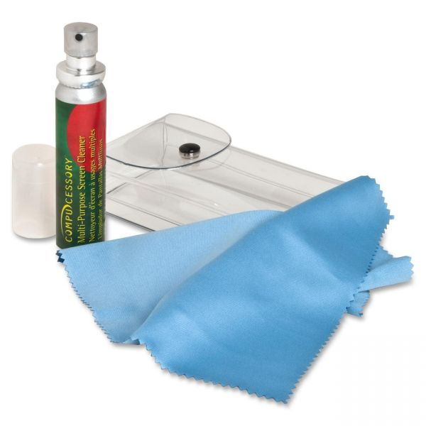 Compucessory Microfiber Cloth Screen Cleaner Kit
