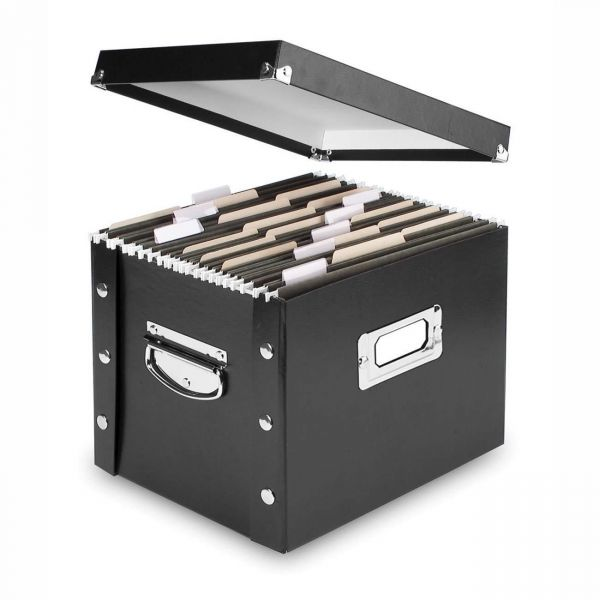 IdeaStream Collapsible Desktop File Box