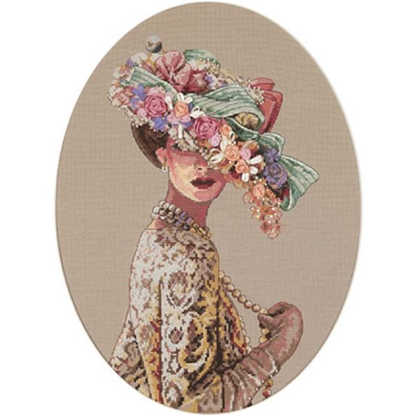Gold Collection Victorian Elegance Counted Cross Stitch Kit