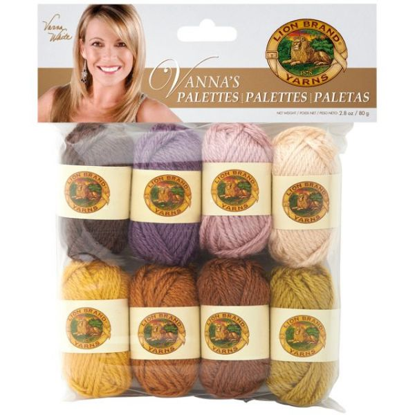 Lion Brand Vanna's Palette Bonbons Yarn - Assorted Essential