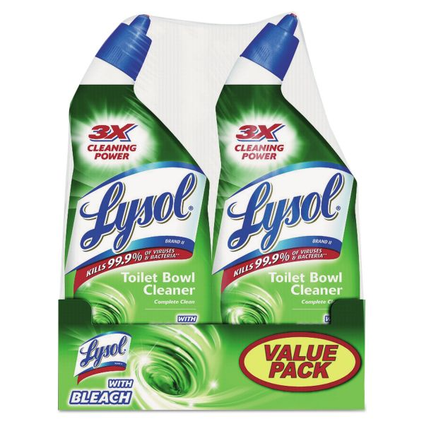 LYSOL Max Coverage Disinfectant Complete Clean Toilet Bowl Cleaner with Bleach