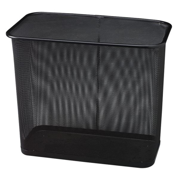 United Concept Collection 7.5 Gallon Open-Top Mesh Trash Can