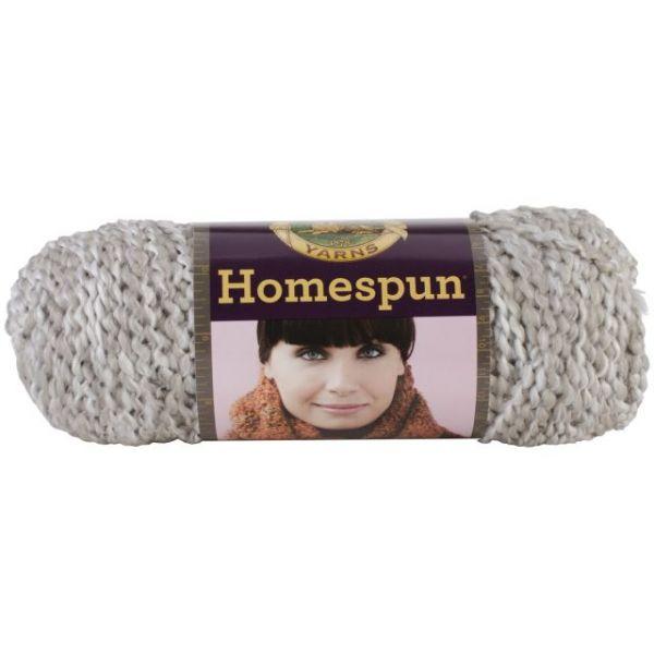 Lion Brand Homespun Yarn - Clouds
