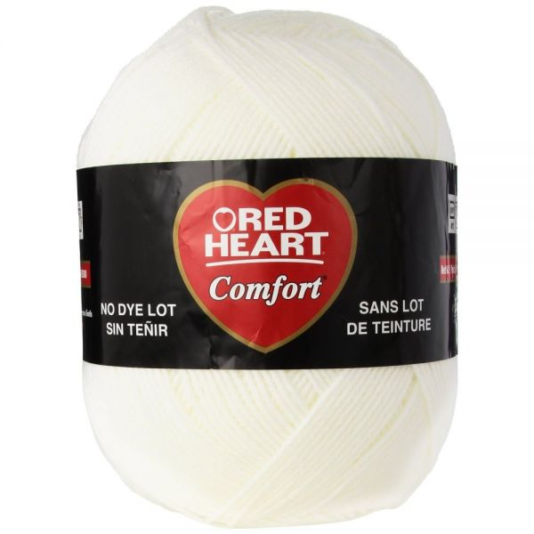 Red Heart Comfort Yarn - White