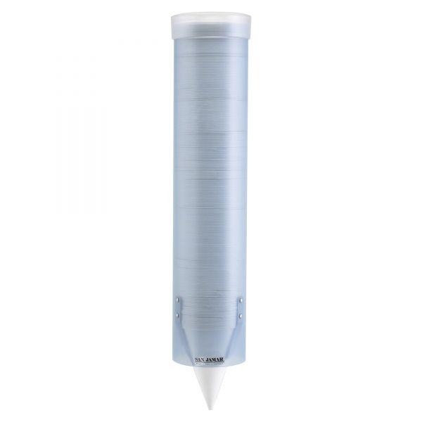 San Jamar Adjustable Frosted Water Cup Dispenser