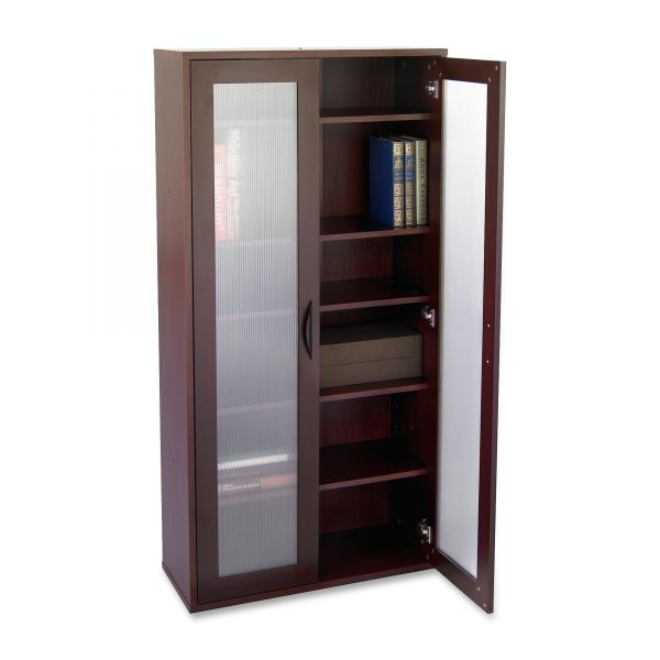 Safco Apres Tall Two-Door Storage Cabinet