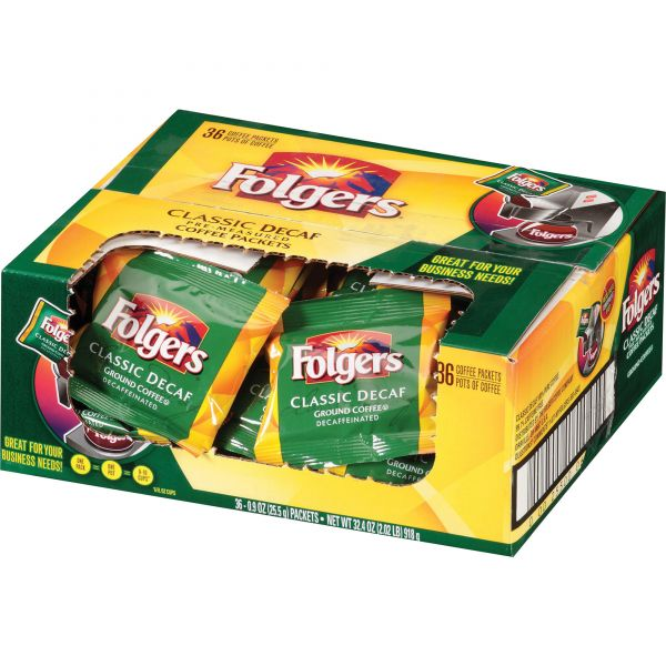 Folgers Classic Roast Coffee Packets