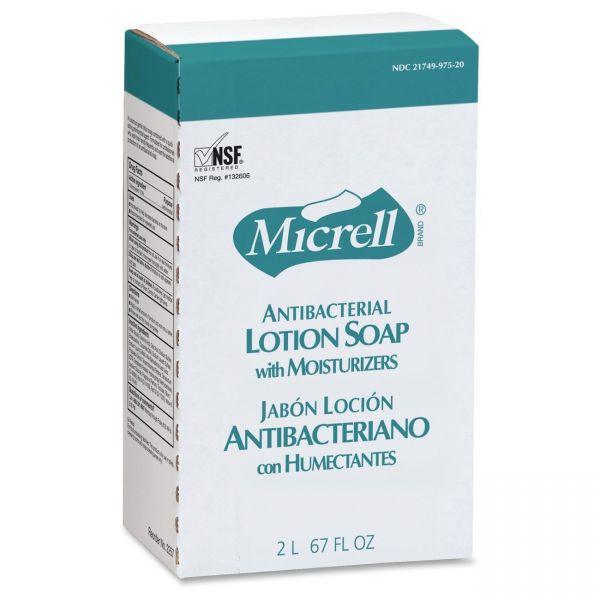 Micrell Antibacterial Lotion Hand Soap Refills