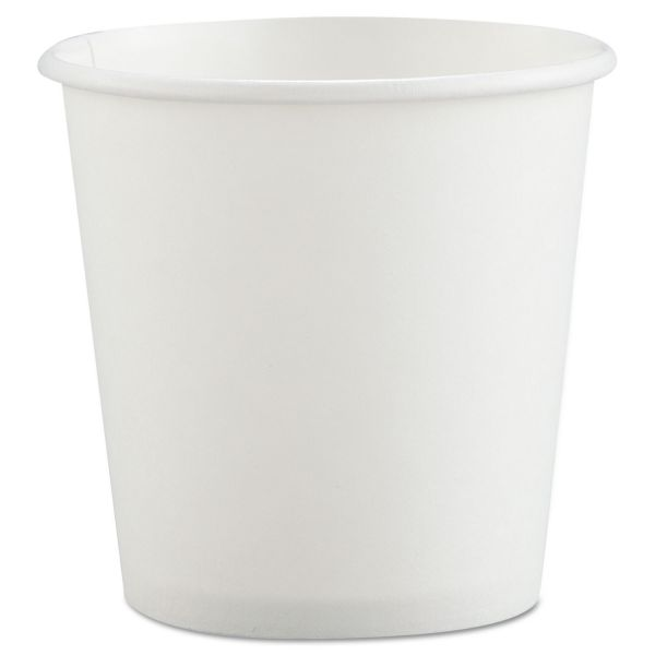 SOLO Cup Company Polycoated Paper 4 oz Coffee Cups