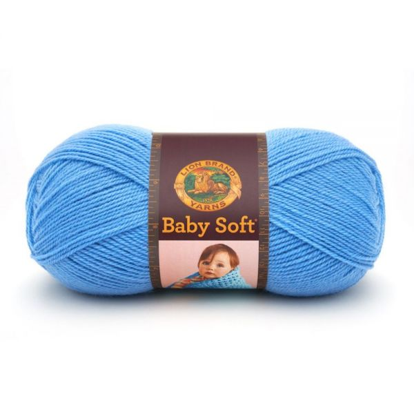 Lion Brand Baby Soft Yarn - Bluebell
