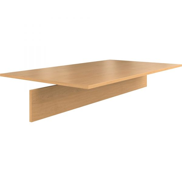 "HON Preside Laminate Table Top | Adder Section | 72""W x 48""D"