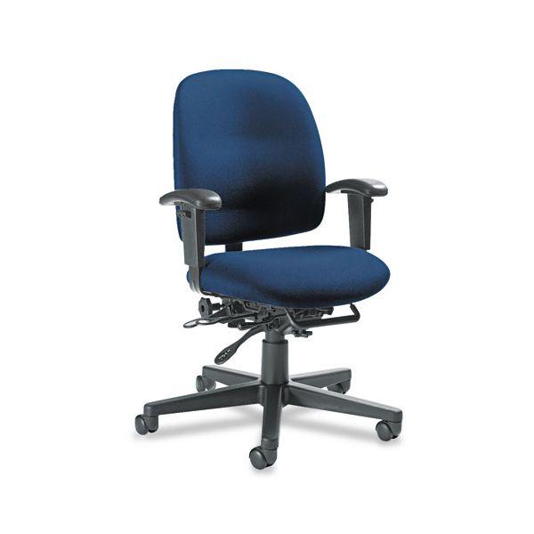Global Granada Series Low-Back Multi-Tilter Chair