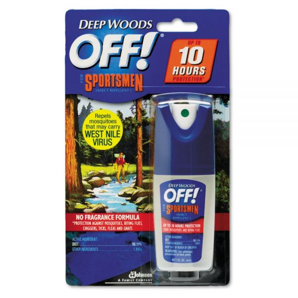 OFF! Deep Woods Sportsmen Insect Repellent