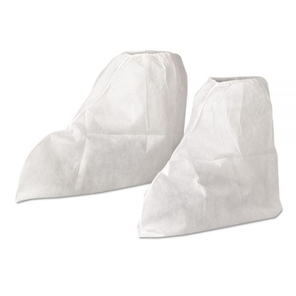 KleenGuard* A20 Boot Covers, MICROFORCE Barrier SMS Fabric, One Size, White, 300/Carton