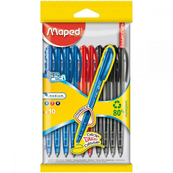Retractable Ballpoint Pen 10/Pkg