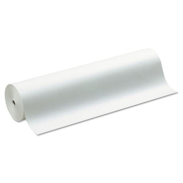 "Pacon Kraft Paper Roll, 50 lbs., 36"" x 1000 ft, White"