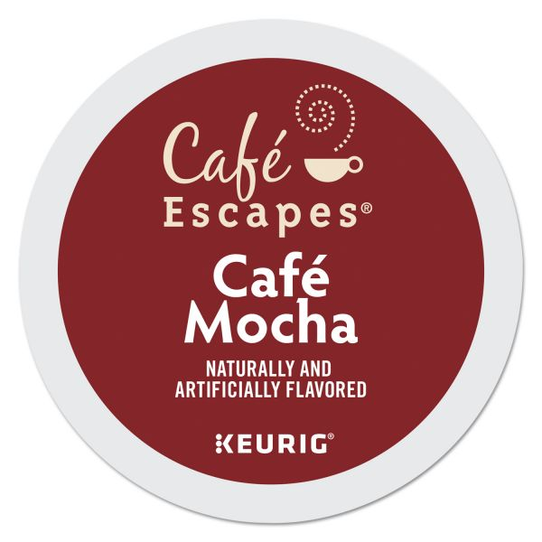 Café Escapes Café Escapes Mocha K-Cups, 24/Box