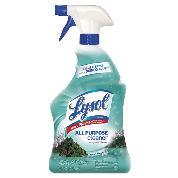 LYSOL Brand II Ready-to-Use All-Purpose Cleaner, Fresh Mountain, 32 oz Trigger Spray