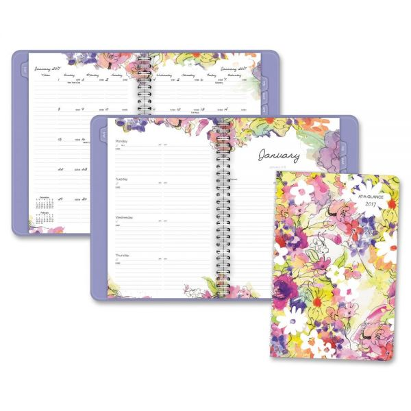 At-A-Glance Secret Garden Premium Weekly/Monthly Planner