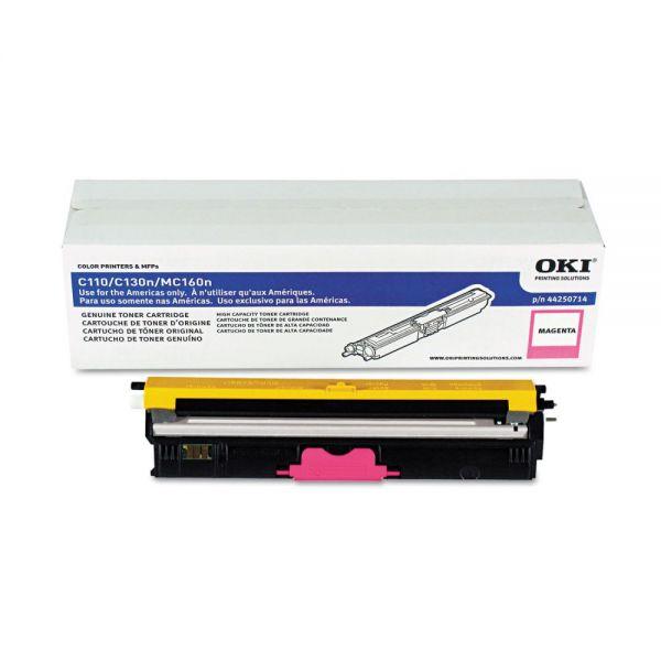 Oki 44250714 Magenta Toner Cartridge