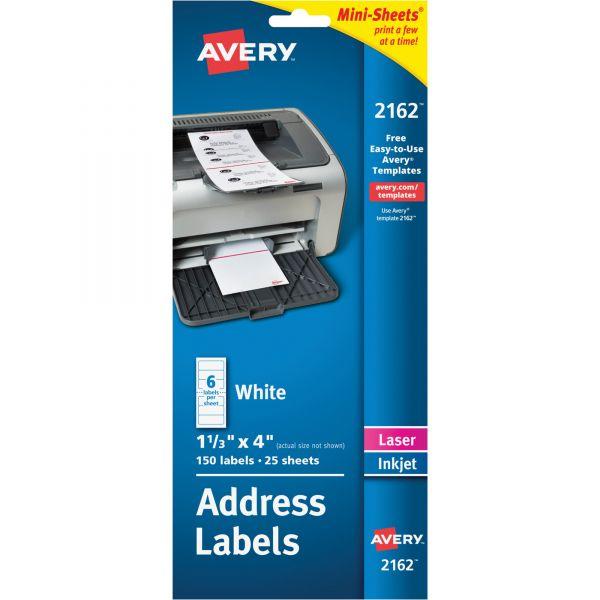 Avery Mini-Sheets Address Labels