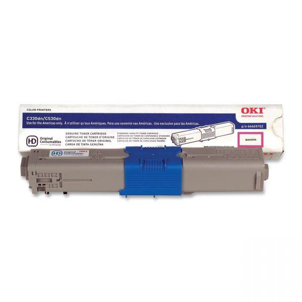 Oki 44469702 Magenta Toner Cartridge