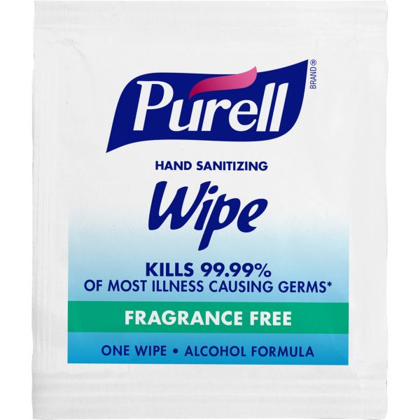 PURELL Individually Wrapped Premoistened Sanitizing Hand Wipes