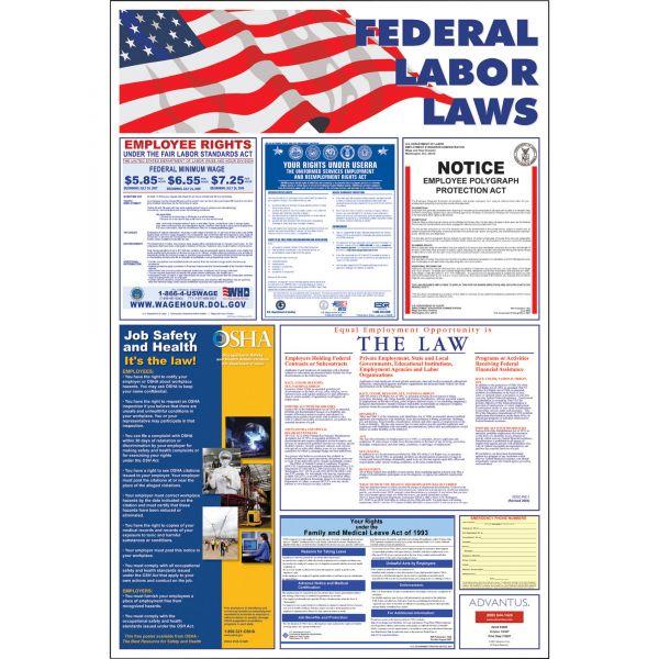 Advantus Federal Labor Law Poster