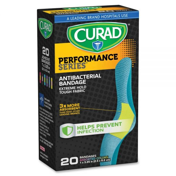 Curad Colored Antibacterial Bandages