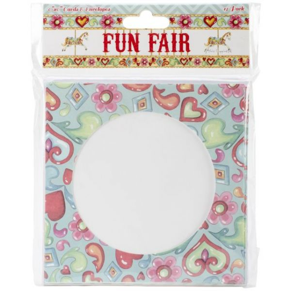 "Helz Fun Fair Cards & Envelopes 6""X6"""