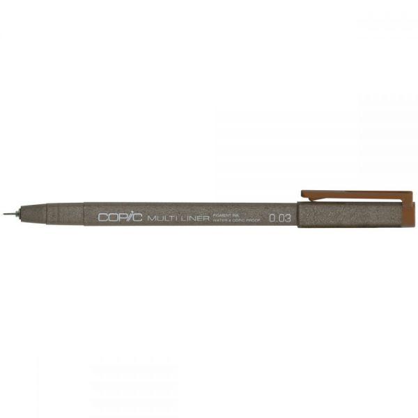 Copic Multiliner Sepia Ink Pen