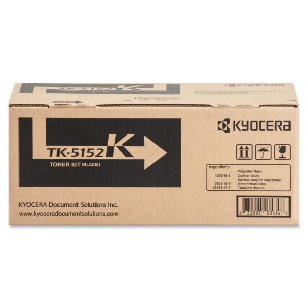 Kyocera TK-5152K Black Toner Cartridge