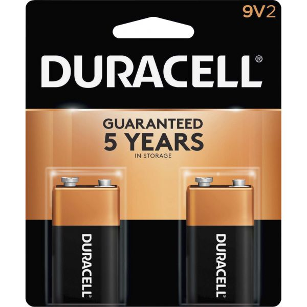 Duracell Coppertop 9V Batteries