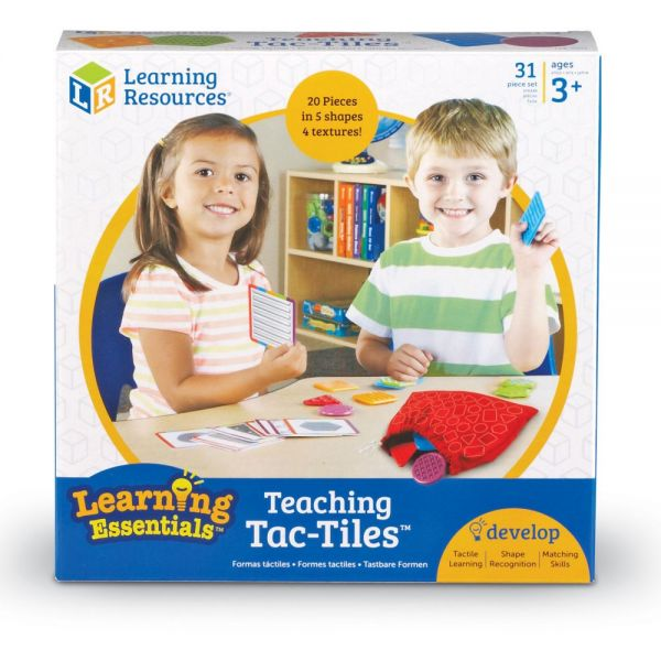 Learning Resources Tac-Tiles Teaching Set