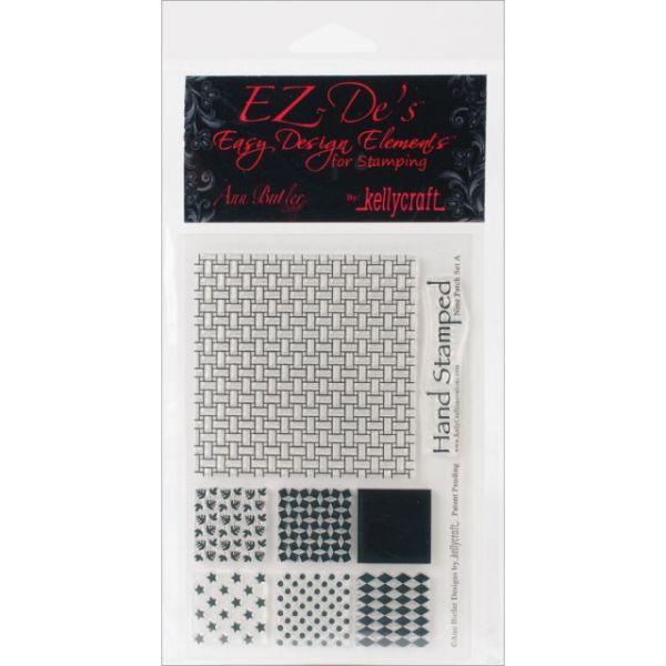 """EZ-De's Clear Stamps 4""""X6"""" Sheet"""