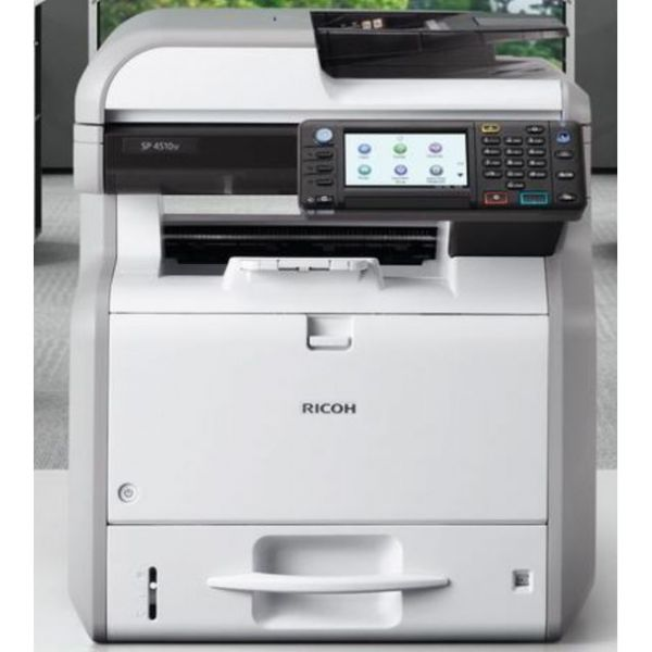 Ricoh Aficio SP 4510SF LED Multifunction Printer - Monochrome - Plain Paper Print - Desktop