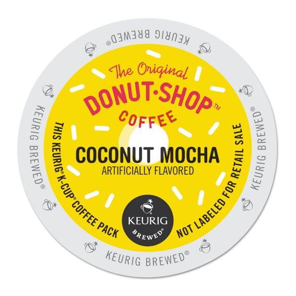 Donut Shop Coffee Coconut Mocha Coffee K-Cups