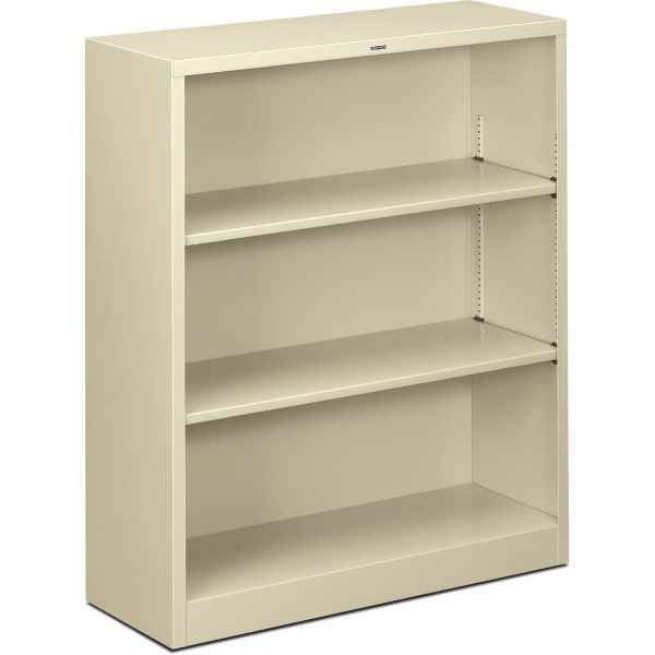 HON Brigade 3-Shelf Steel Bookcase