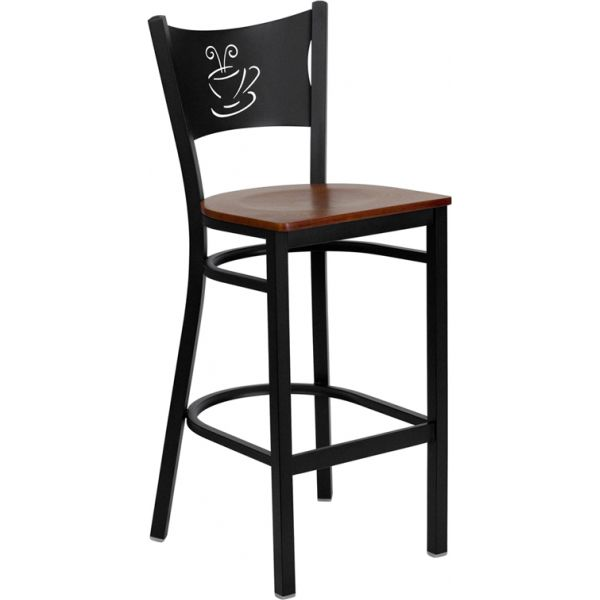 Flash Furniture HERCULES Series Coffee Back Barstool