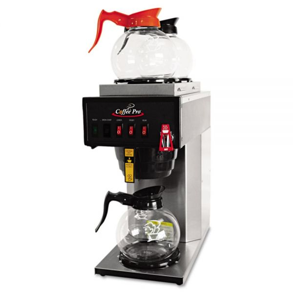 Coffee Pro High-Capacity Institutional Plumbed-In Coffee Brewer