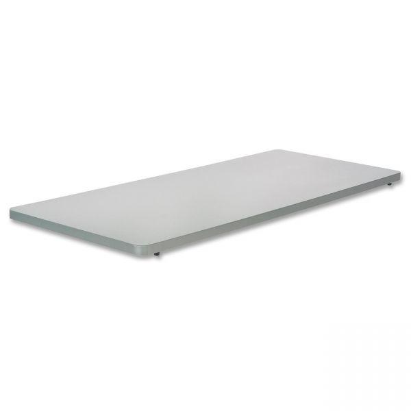 Safco Impromptu Series Mobile Training Table Top, Rectangular, 48w x 24d, Gray