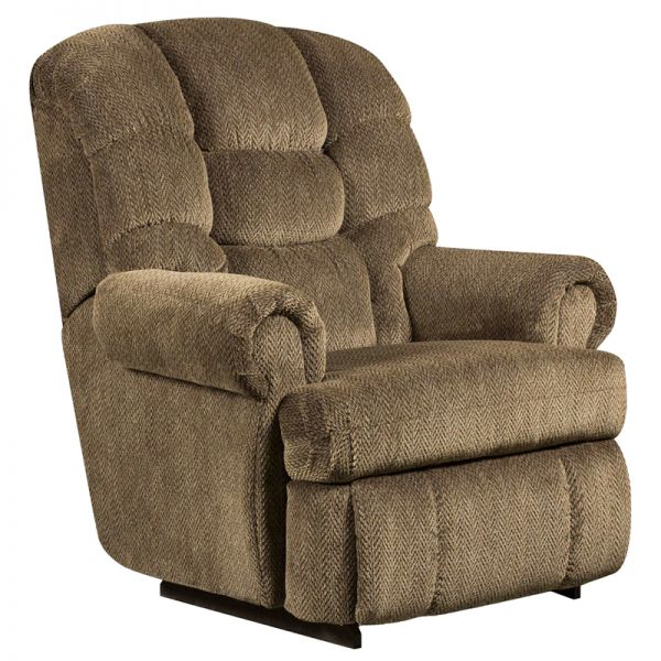 Flash Furniture Big and Tall 350 lb. Capacity Gazette Basil Microfiber Recliner
