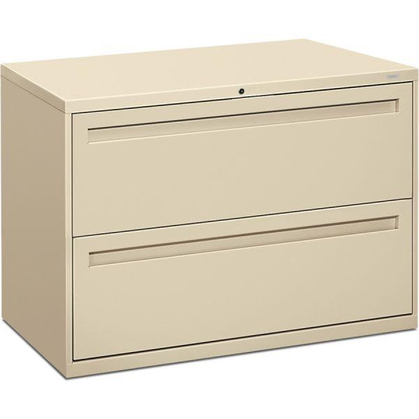 HON 700 Series 2 Drawer Locking Lateral File Cabinet