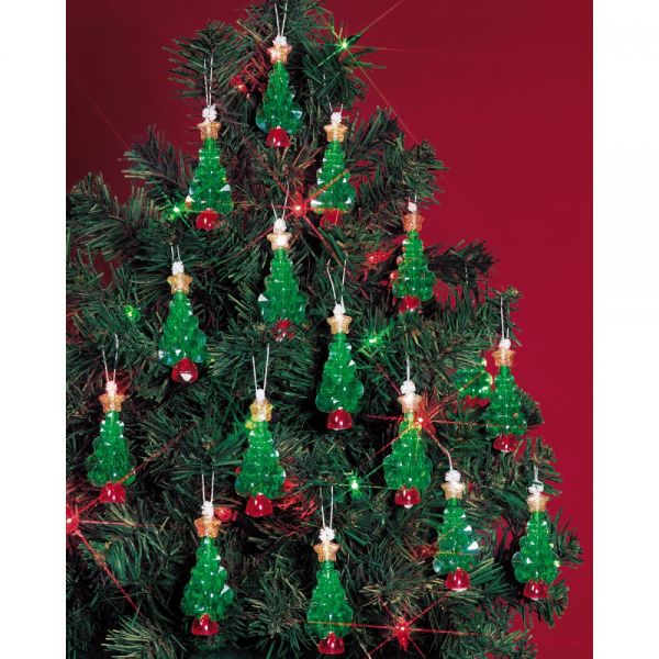 Holiday Beaded Mini Tree Ornament Kit