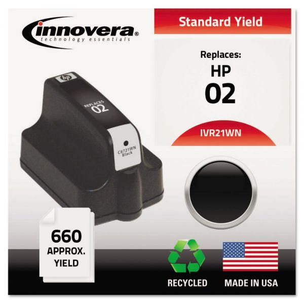 Innovera Remanufactured HP 02 Ink Cartridge